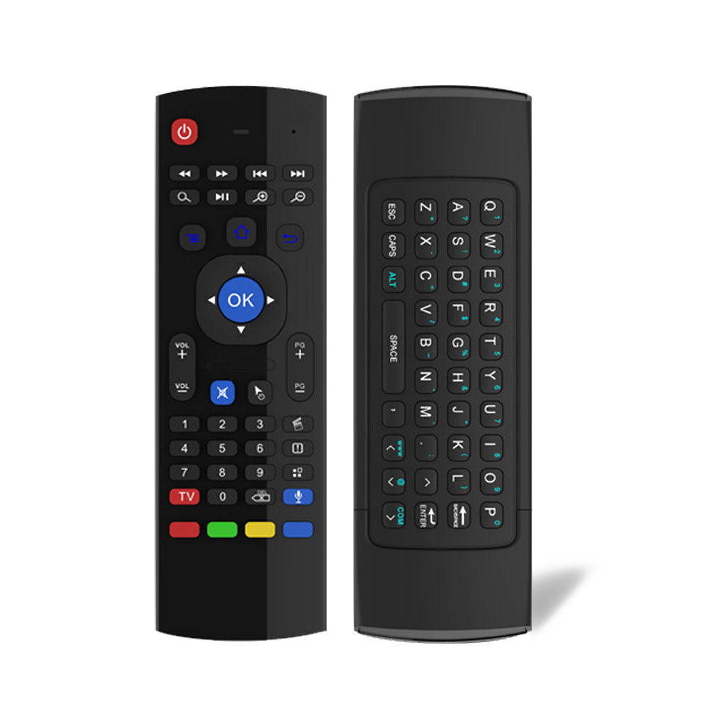 MX3-M Wireless Air Mouse Keyboard Remote /w Microphone ...